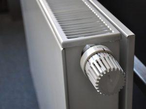 radiateur avec molette de variation pour pompe à chaleur air eau
