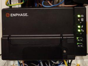 PASSERELLE de communication des panneaux photovoltaïques